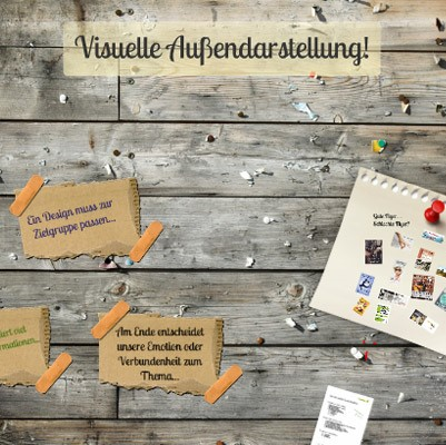 Visuelle Präsentation - Der erste Eindruck zählt!