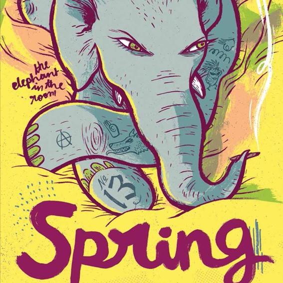 Der Elefant im Grünen Salon – ein Abend über Frauen, Comics, Indien und mehr
