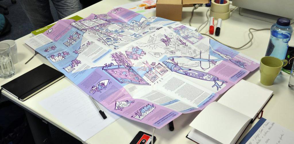 Graphic Recording für Zeichner*innen