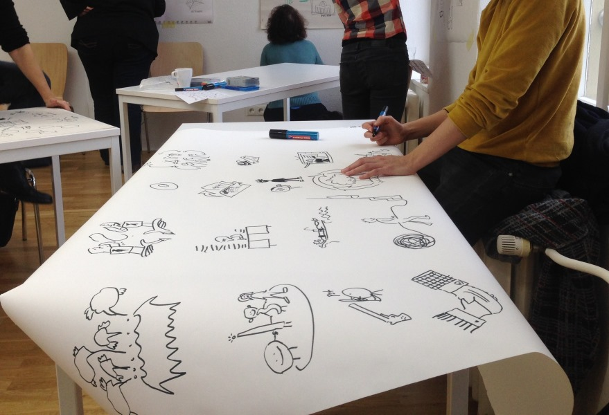Graphic Recording und andere Visualisierungstechniken