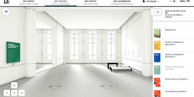 Virtuelle Werkstatt für kuratorische Experimente