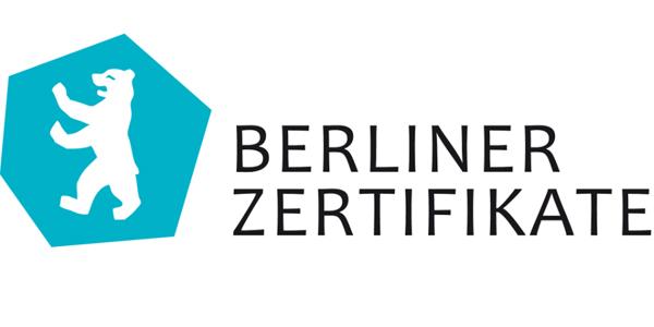 "Fortbildung ""Kompetenznachweis"" Berliner Zertifikate"